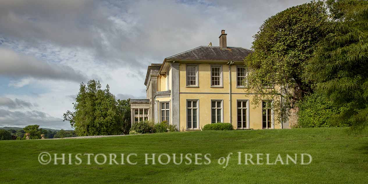 Salterbridge House, overlooking the River Blackwater near Cappoquin in County Waterford